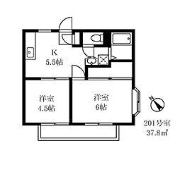 アーバン539[2階]の間取り