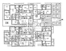 仮)北21西7マンション[4階]の間取り