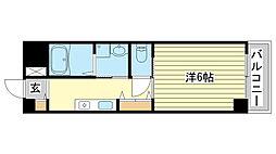インタービレッジ城北弐番館[3階]の間取り