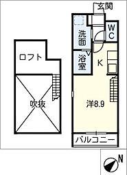 itmsuehiro 2階ワンルームの間取り