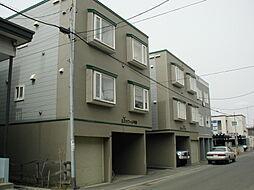 北海道札幌市豊平区平岸三条10丁目の賃貸アパートの外観