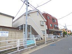 埼玉県川口市原町の賃貸アパートの外観