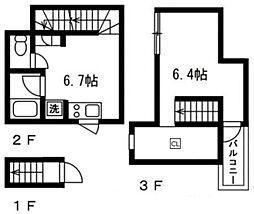 Presi桜新町[2階]の間取り