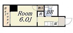 ラ・ジェンテ25[8階]の間取り