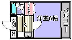 エルム泉大津パート2[302号室]の間取り