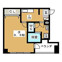 NORITAKE21[4階]の間取り