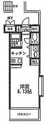 神奈川県厚木市妻田北4丁目の賃貸マンションの間取り