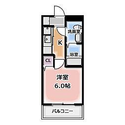 エクセルガーデンB棟[3001号室]の間取り