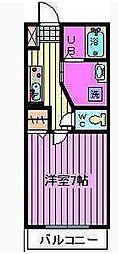 (仮)フラッツ蔵 ANNEX 北館[2階]の間取り