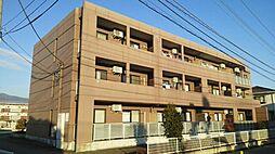 山梨県甲斐市富竹新田の賃貸マンションの外観