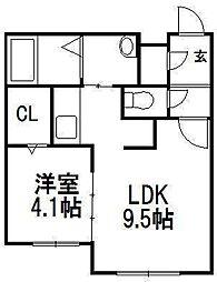 北海道札幌市豊平区月寒中央通3の賃貸マンションの間取り