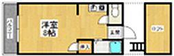 福岡県福岡市早良区飯倉2丁目の賃貸アパートの間取り
