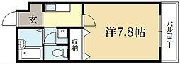 ラヴィ松ヶ崎[1階]の間取り