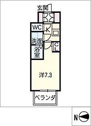 S−RESIDENCE千種[7階]の間取り