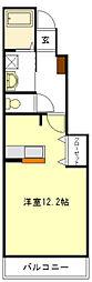 アンジェの郷[1階]の間取り