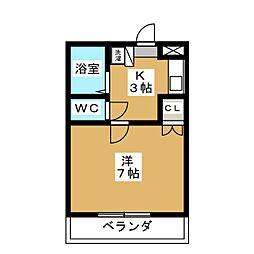 IKI本館ビル[2階]の間取り