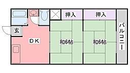 幸成マンション[302号室]の間取り