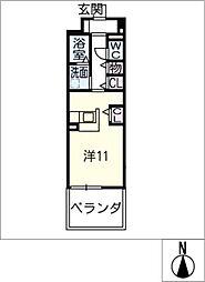 JS[3階]の間取り