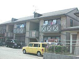 スカイハイツ植田[2階]の外観