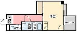 TRTマンション[202号室]の間取り