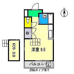 フェンネルハイツ[5階]の間取り