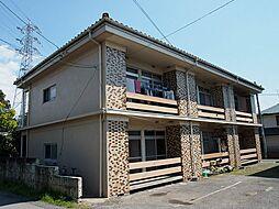 栃木県宇都宮市江曽島2丁目の賃貸アパートの外観
