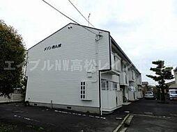 香川県高松市出作町の賃貸アパートの外観
