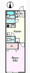 ウィング三軒茶屋[2階]の間取り