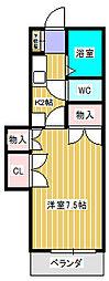 ラフィーヌ・池田5番館[2階]の間取り