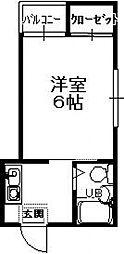 上汐泉本ビル[4階]の間取り