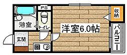 ラピート堺[2階]の間取り