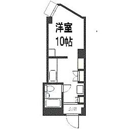 平岸パークマンション[518号室]の間取り