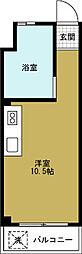 モアハイツ[4階]の間取り