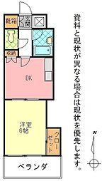 石垣東成ビル[0503号室]の間取り