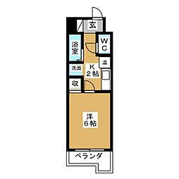 SSビル[3階]の間取り
