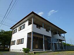 栃木県真岡市東郷の賃貸アパートの外観