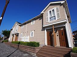 福岡県北九州市若松区ひびきの南2丁目の賃貸アパートの外観