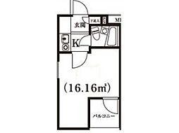 エバ・グリーン宿河原[2階]の間取り