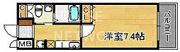 エスティメゾン四条西洞院[802号室号室]の間取り