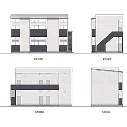 福岡県福岡市城南区友丘2丁目の賃貸アパートの外観