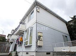 兵庫県神戸市灘区上野通3丁目の賃貸アパートの外観