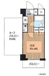 藤和シティコープ大倉山駅前[6階]の間取り