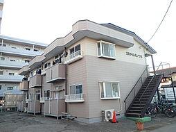 エルディムミノワB棟[1階]の外観