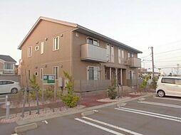 富山県富山市岩瀬白山町の賃貸アパートの外観