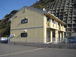 長崎県長崎市香焼町の賃貸アパートの外観