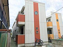 宮城県仙台市太白区太子堂の賃貸アパートの外観