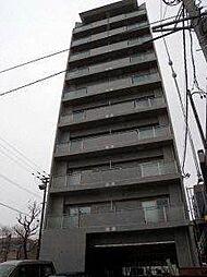 北海道札幌市白石区南郷通5丁目南の賃貸マンションの外観
