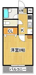 RCA-I[3階]の間取り