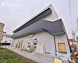 愛知県名古屋市守山区鳥羽見2丁目の賃貸アパートの外観