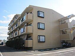 東京都三鷹市大沢の賃貸マンションの外観